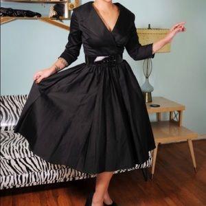 Pinup Couture Pinup Girl Birdie Black Dress